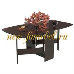 Стол-книжка раскладной 1-65ТМ1вн., цвет венге, ШхГхВ 170х90х74 см., 30х90х74 см. сложенный - фото 10412