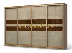 Фараон 3 шкаф-купе стекло