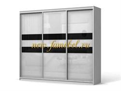 Шкаф купе Колизей 6, цвет белый
