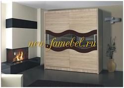 Амадеус 9 шкаф купе 2-х дверный 800-1500/1900-2700/400-700