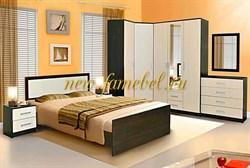 Мега 3 спальня с угловым шкафом