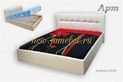 Арт мягкая кровать с подъёмным механизмом