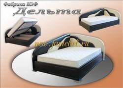 Дельта угловая кровать с подъёмным механизмом