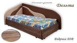 Кровать угловая с подъёмным механизмом Дельта со старением
