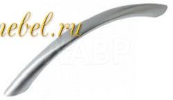 Ручка мебельная скоба 96мм сатиновый никель RS008SN.3/96 Boyard