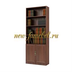 Шкаф книжный Карлос 014, размер 80х203х28 см.