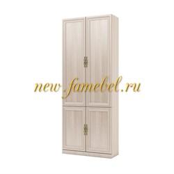 Шкаф книжный Карлос 008, размер 80х203х28 см.