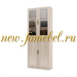 Шкаф книжный Карлос 030, размер 80х203х28 см.