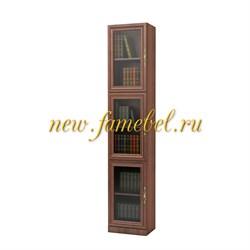Шкаф витрина Карлос 023, размер 40х203х28 см