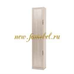 Карлос 027 шкаф для книг, размер 40х203х28 см