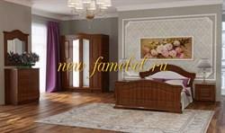 Спальня Элизабет 2 МДФ с 4-х створчатым шкафом