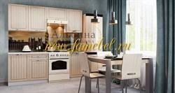 Кантри МДФ гарнитур кухонный 2000 имбирь структурный