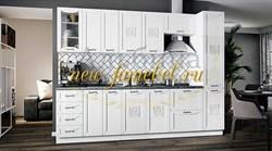 Кухня Соната МДФ 2800 белая матовая