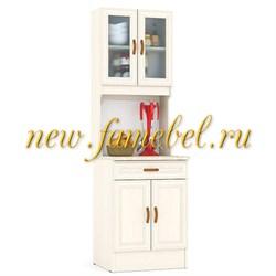 Кухонный Буфет МД 600 цвет дуб, ШхГхВ см, 60х60х200