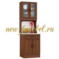 Кухонный Буфет МД 600 цвет орех, ШхГхВ см, 60х60х200
