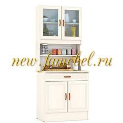 Кухонный Буфет МД 800 цвет дуб, ШхГхВ см, 80х60х200