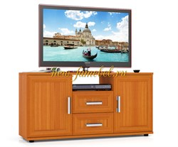 Тумба для ТВ Бонус, цвет вишня, ШхГхВ см 120х36х60