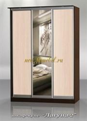 Шкаф купе Лагуна 2 с зеркалом