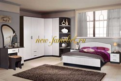 Спальня Светлана 21, гарнитур с угловым шкафом