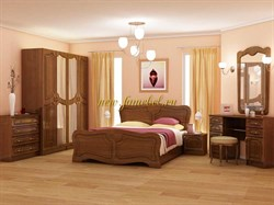 Спальня с фасадом МДФ, Спальня Натали МДФ
