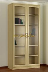 Шкаф книжный 2.1 светлый