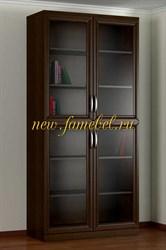 Шкаф книжный 2.2 рельеф
