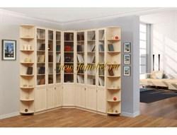 Угловой шкаф Библиотека Рафаэлло