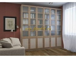 Библиотека Лира 2400 шкаф книжный