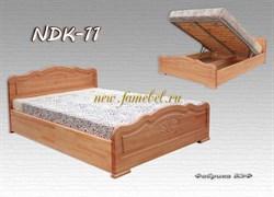 Кровать NDK 11 может быть с подъемным механизмом