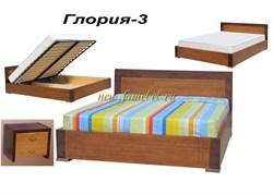 Кровать Глория 3 с подъемником