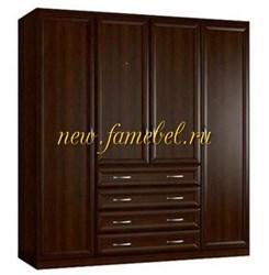 Четырехдверный шкаф Стелла 5
