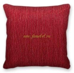 Подушка Милан красный - фото 5298