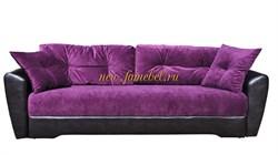 Диван еврокнижка Амстердам 150 велюр фиолетовый