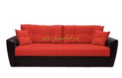 Диван еврокнижка Амстердам 160 рогожка красная