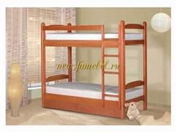 Кровать Алиса двухярусная с ящиками