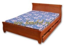 Кровать Тамара 1 с ящиками