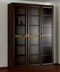 Шкаф книжный 3.1 темный