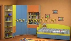 Детская стенка Белоснежка 9