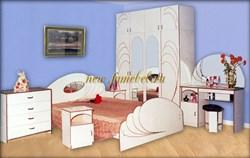 Спальня Жемчуг 2 ЛДСП