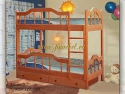 Кровать Диана 3 двухъярусная с ящиками