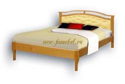 Кровать Ария Кожа