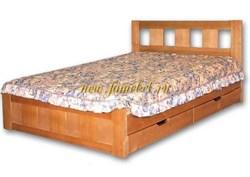 Кровать Галлея 2 из массива сосны.