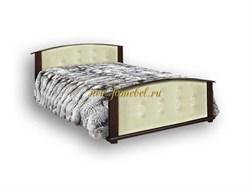 Кровать Милена кожа