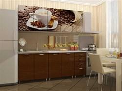 Кухонный гарнитур КАФЕ фотопечать (Альбина)