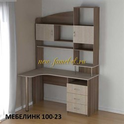 Стол компьютерный Мебелинк 100-23 лдсп