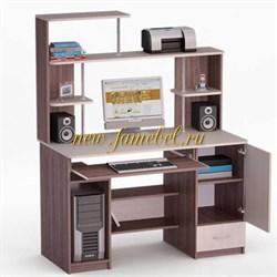 Роберт 64 угловой компьютерный стол с надставкой