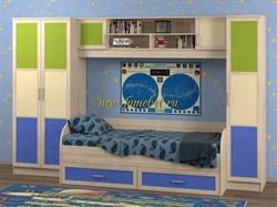 Белоснежка 3 полосы 8 детская мебель