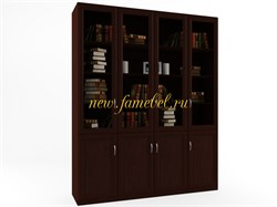 Гала 4.4 шкаф для книг Венге цаво