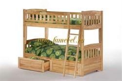 Кровать Мадрид двухъярусная с ящиками АРТЭ