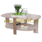 Джордан 6-0218, Стол журнальный, цвет ясень шимо тёмный/ясень шимо светлый, ШхГхВ 112х70х45 см.